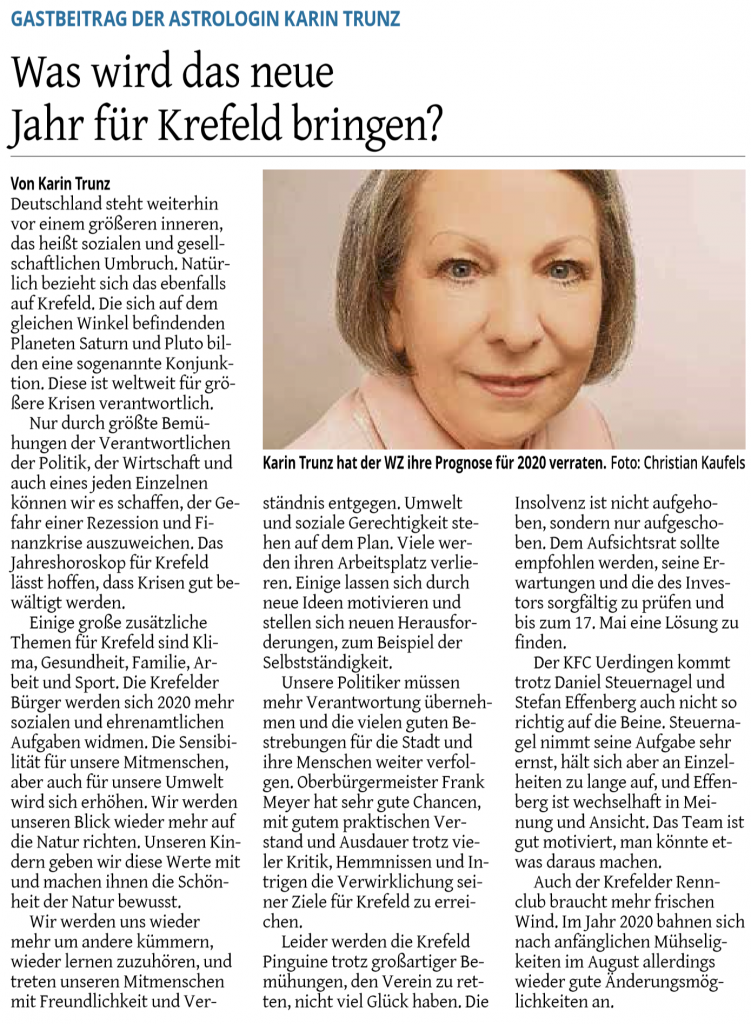 2019-12-31 Westdeutsche Zeitung -Krefeld